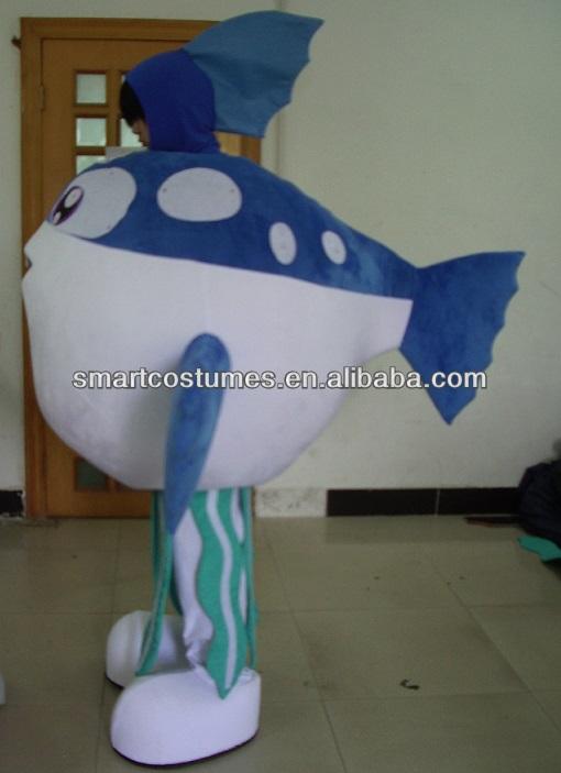New nice adult puffer fish mascot costume buy puffer for Puffer fish costume