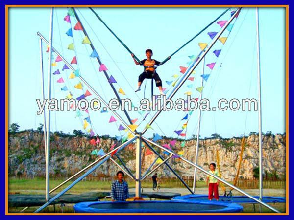 Bungee Jumping Trampoline Amusement Park Gymnastic Reverse