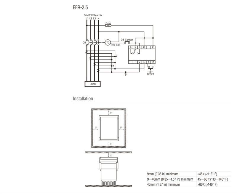 elr electronic leakage relay  view electronic leakage