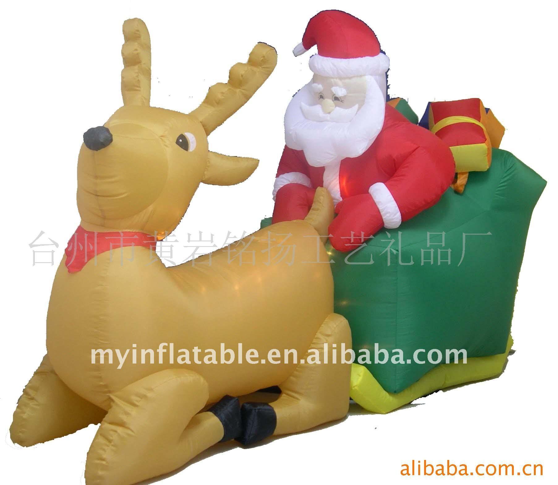 Inflatable boat buy christmas santa on