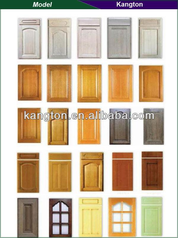 Mdf kitchen cabinet doors white pvc laminate kitchen for Buy white kitchen cabinet doors