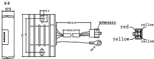 gs125 regulator of motorcycle parts