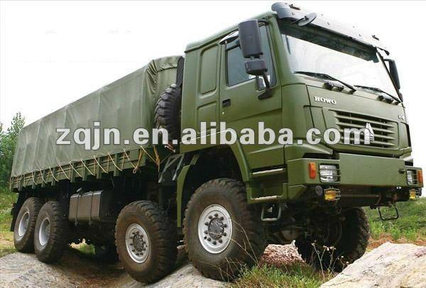 Army Heavy Duty Trucks : Howo heavy duty off road truck buy
