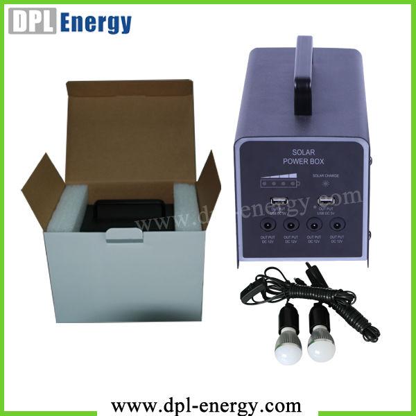 Efficiency lithium battery solar emergency power supply for Energy efficiency kits