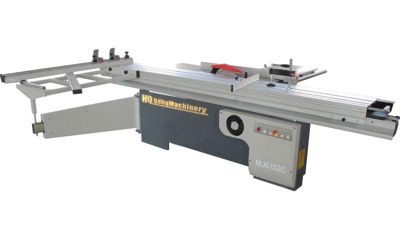 wood cutting table saw machine
