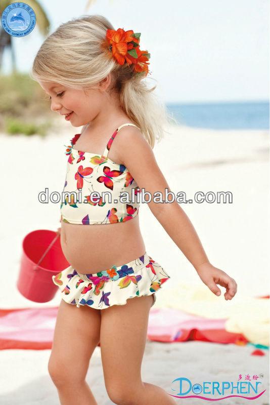 Domi Young Girl Swimwear Sexy Kids String Bikini - Buy ...