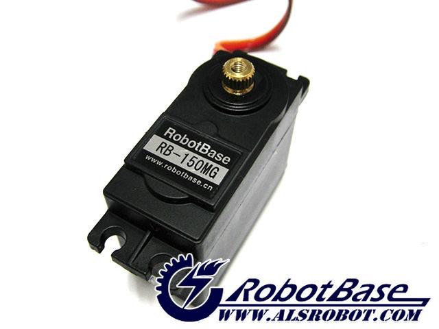 Rb 150mg Plastic Gear Servo Motor Of 180 Degree For