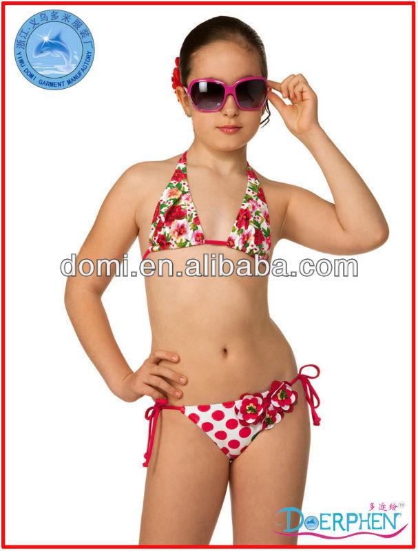 Flower bikini top big