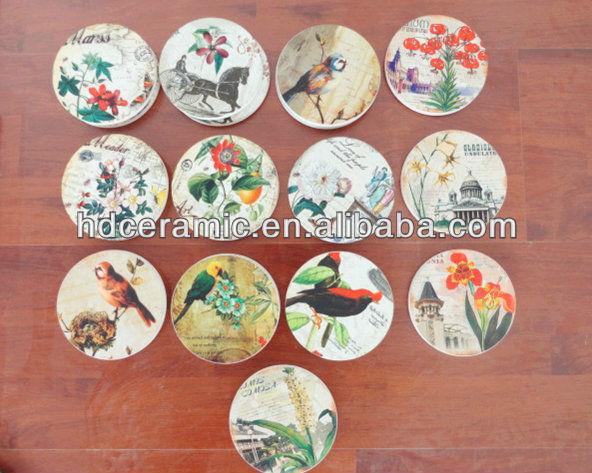 Ceramic Cup Holder Coaster View Ceramic Promotional