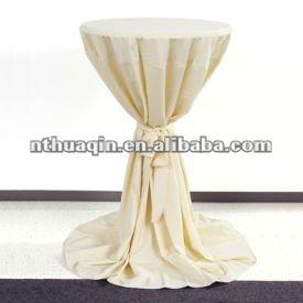Scuba Bistro Table Cover Polyester Highboy Tablecloth Elastic Bar Tablecloth