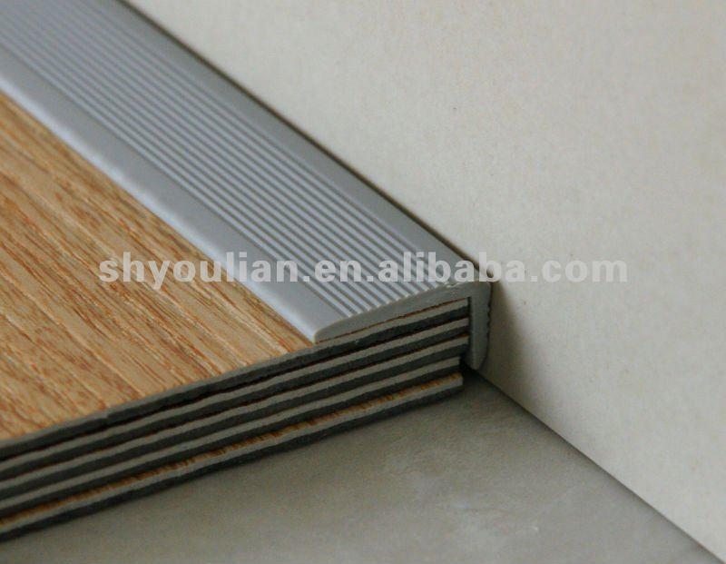 Edge protection profile pvc floor edging strip vinyl for Floor edge trim