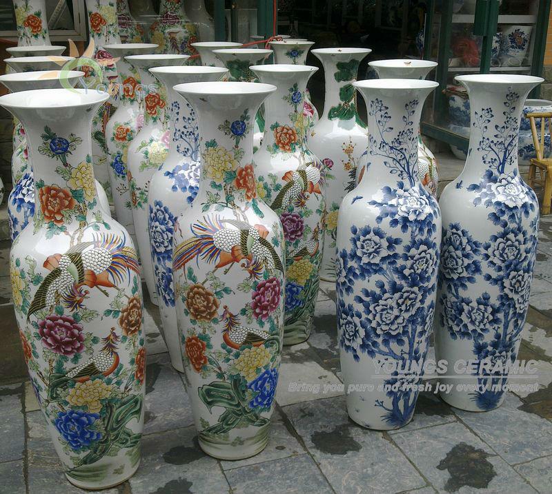 floor vases decoration
