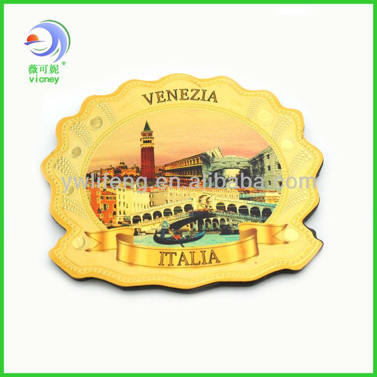 Venice polyresin fridge magnet