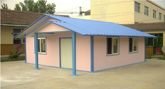 China Modular Cheap Modern Light Steel Prefab House Home