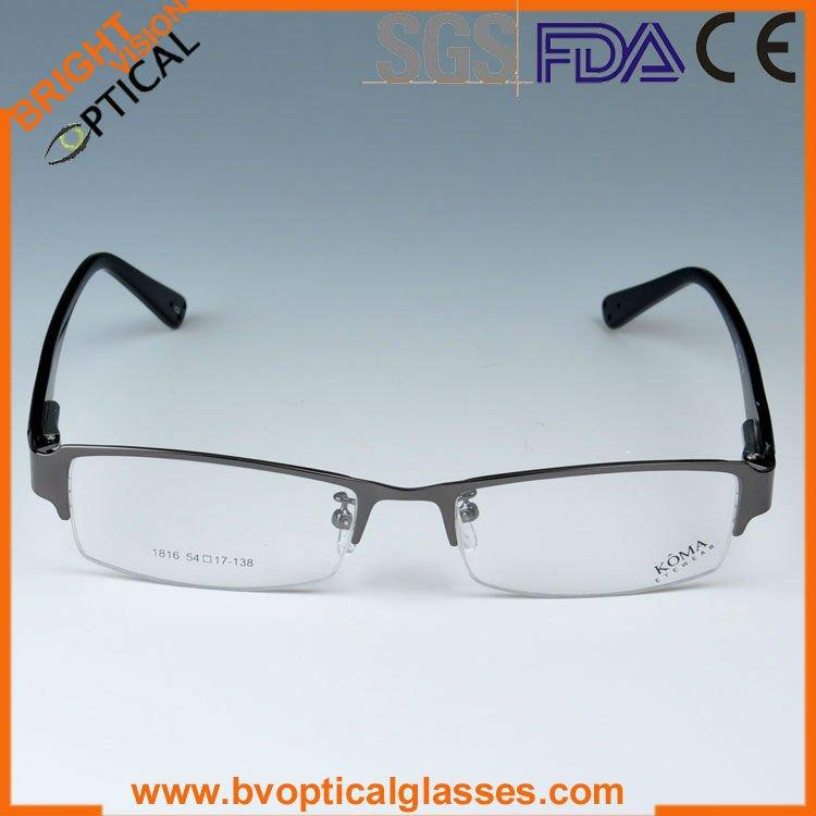 Glasses Frame Hs Code : Bright Vision T1816 Spring Hinge Mans Titan Optical ...