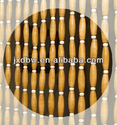 Handmade Fashion Design High Quality Wood Bead Door Curtain - Buy ...