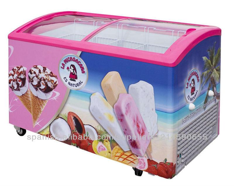 Ice cream display freezercurved glass door freezer view display ice cream display freezercurved glass door freezer planetlyrics Gallery