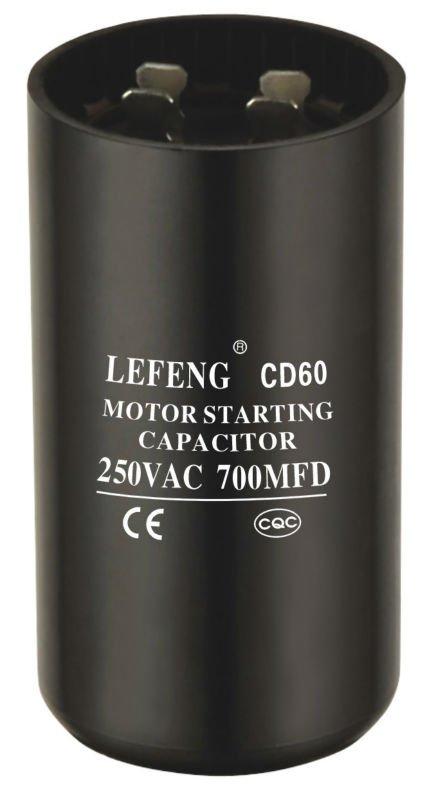 Cd60 250vac Motor Starting Capacitor Buy Ac Compressor