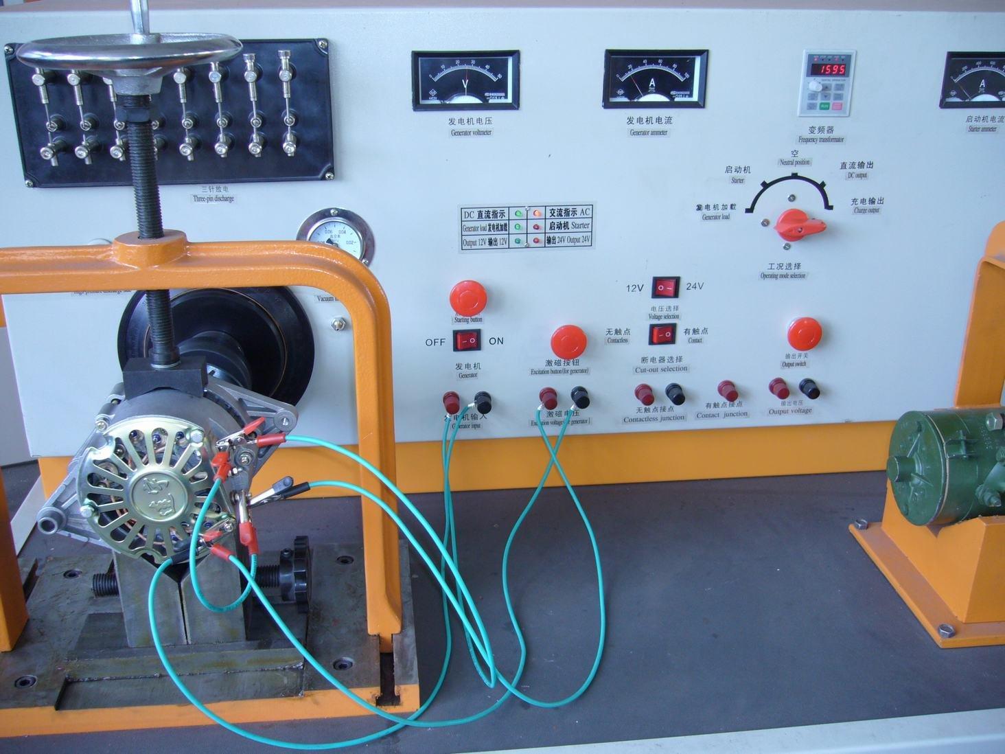 Стенд для генератора своими руками схема