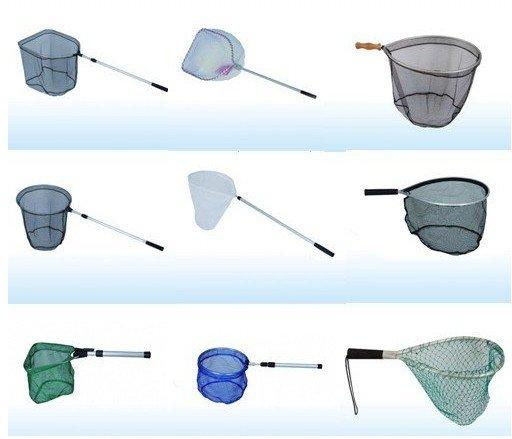 Iron handle fishing net iron handle landing net buy for Kids fishing nets