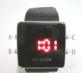 Fashion exchangeable silicone strap jelly led watch China,no MOQ limit,custom logo available
