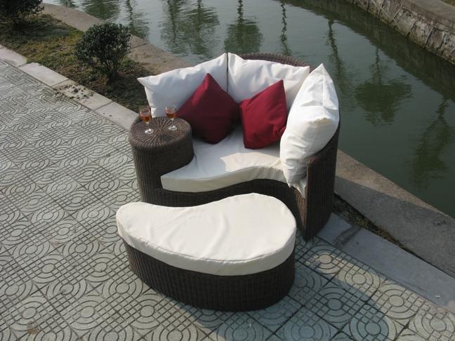 outdoor rattan strand 2013 klassischen lounge liege buy product on. Black Bedroom Furniture Sets. Home Design Ideas