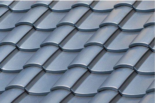 japanese clay roofing tile novum standard-black