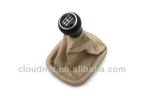 Gear Shift Knob & Beige Boot (5 speed) For VW Volkswagen Passat B5 B5.5