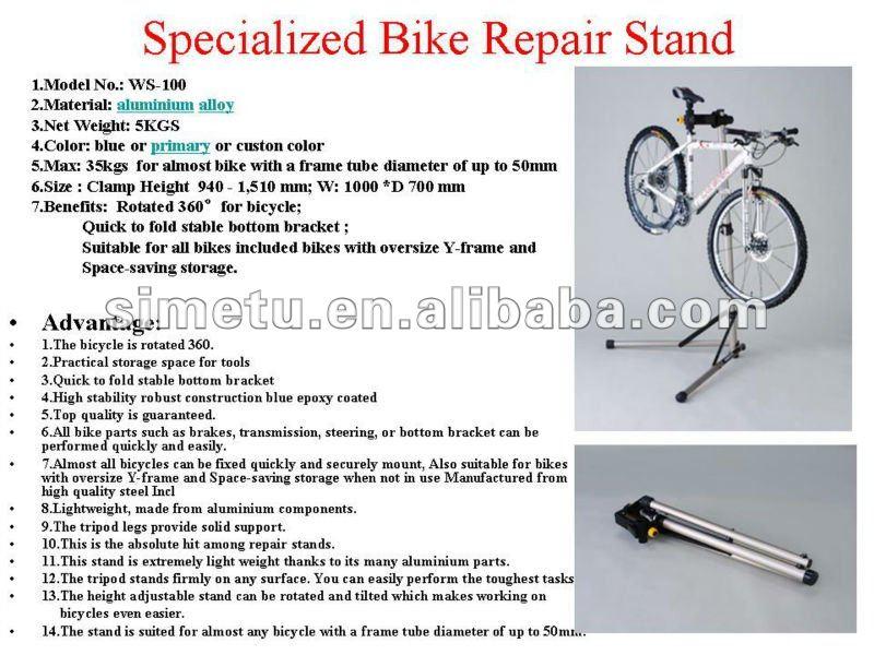 Functional Bicycle Work Stands Display Rack - Buy Bicycle Work ...