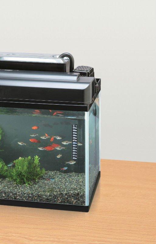 Backing adhesive liquid crystal fish aquarium thermometer for Fish tank glue