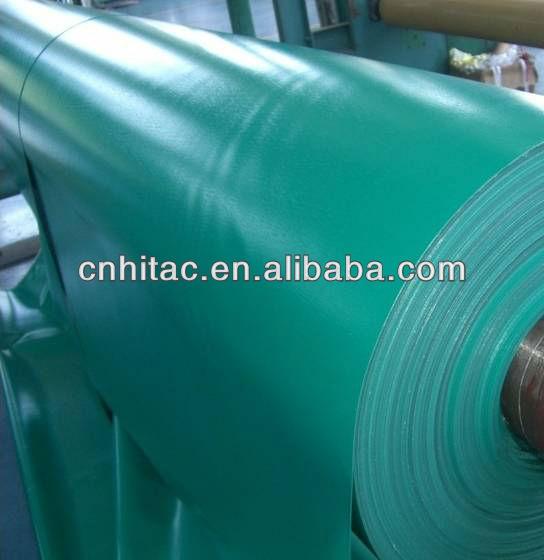 18 Oz Waterproof Pvc Tarpaulin Fabric Vinyl Coated
