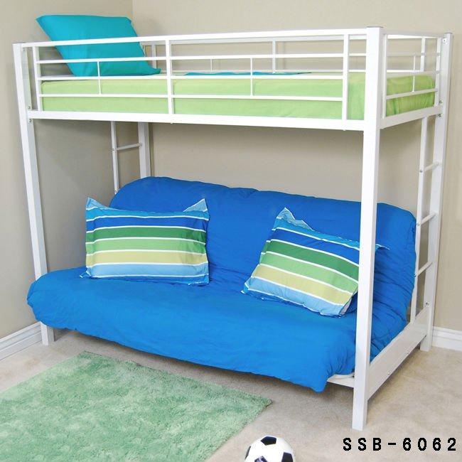 Metal futon sofa bunk beds buy metal futon bunk beds - Litera con futon ...