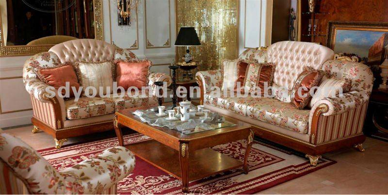 2014 High Quality European Classic Furniture Luxury Classic Living Room Royal