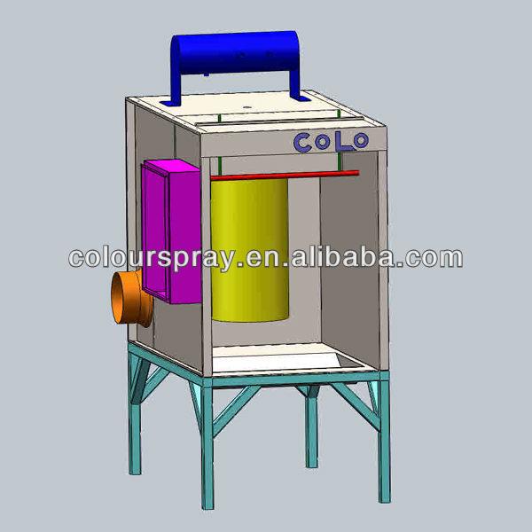 craftsman powder coating system instructions