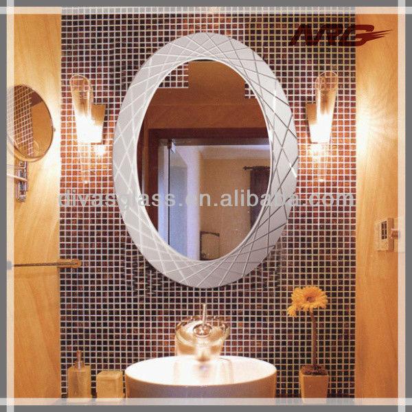 Blanco marco del espejo ovalado buy blanco marco del for Espejo ovalado blanco