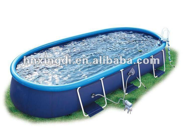 Best seller rectangular above ground swimming pool buy for Piscinas de 6000 litros