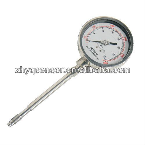 High Pressure Extruder : Melt pressure gauge extruder