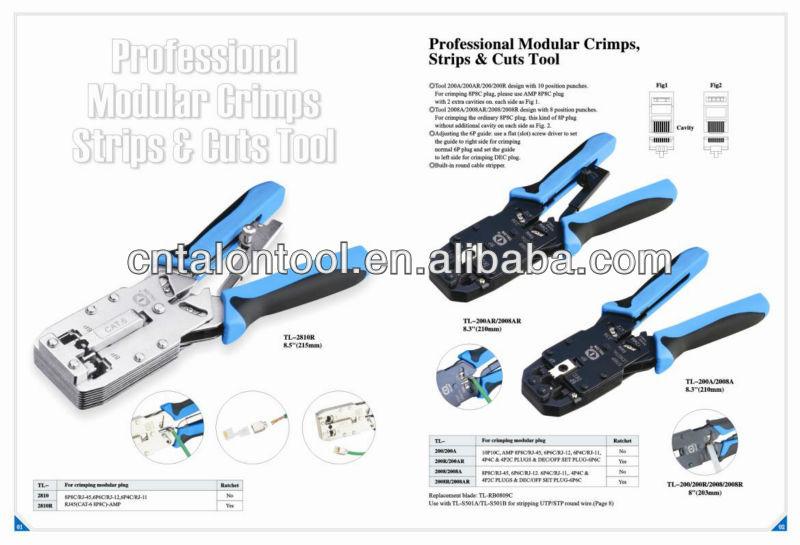 rj45 crimping tool ratchet type amp crimping tool buy amp crimping tool amp crimper rj45. Black Bedroom Furniture Sets. Home Design Ideas