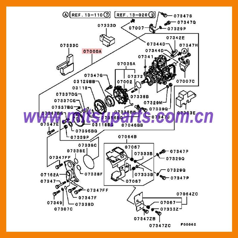 denso diesel injection pump service manual for mitsubishi html autos weblog Car Hood Open Car Interior