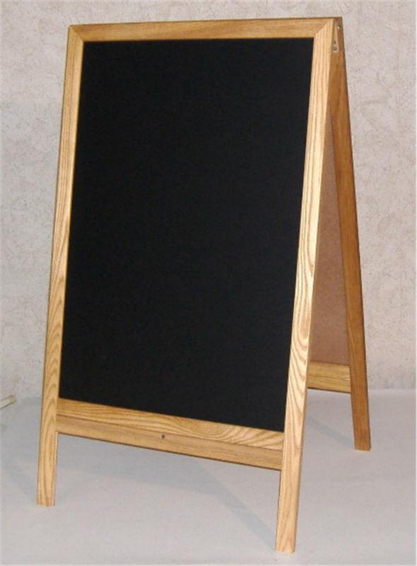 Vintage Wooden Chalkboard And Dry Erase Easels A Frame
