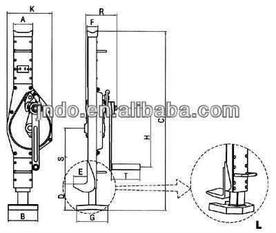 JNDO JQA Handle Type Mechanical Jack_1503256393