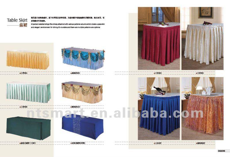 Restaurant Table Skirting Designs Steps In Table Skirting