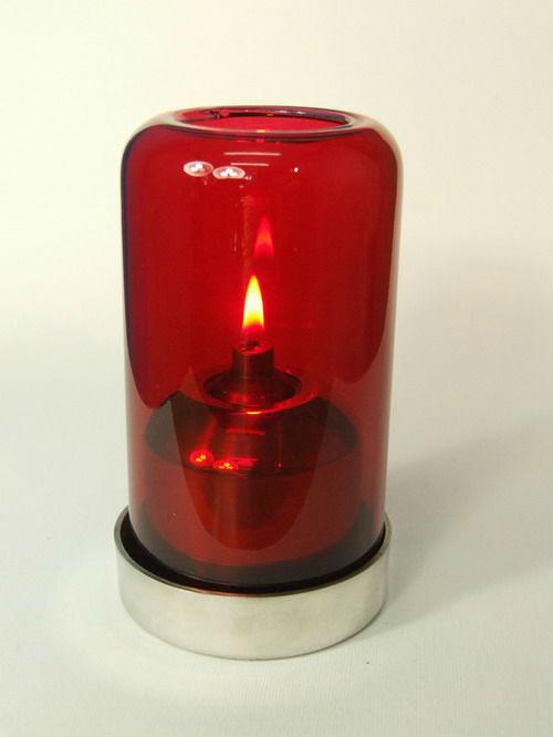Illumination Pila Metal Base Inside Oil Table Lamp