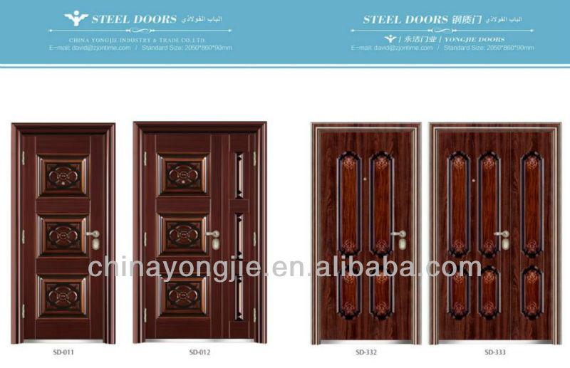 Steel design burglar proof door buy steel burglar proof for Salt air resistant door hardware