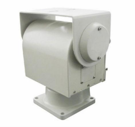High quality high speed dc12v pan tilt head mg 5010 for Pan and tilt head motorized