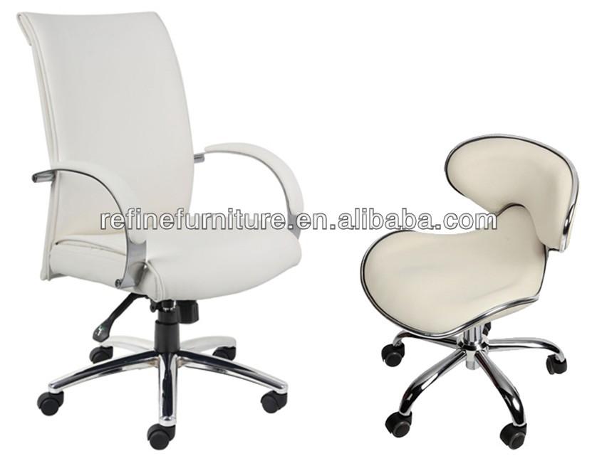 White Modern Pedicure Chair Of Nail Salon Furniture Rf