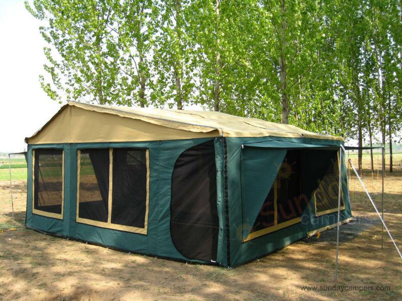 Lastest NEW 2011 DELUXE 12 CAMPER  Camper Trailer Tents Brisbane