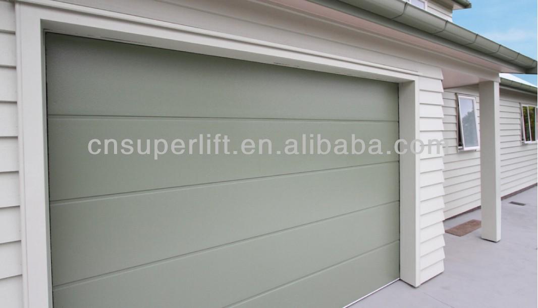 Sectional insulated 9x8 garage door with good wind storm for Garage door opener stopped working after storm