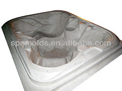 the new style fiberglass plastic uptake swim spa mold with RFP