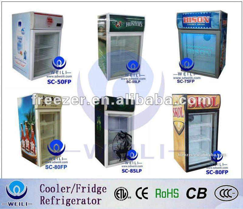 electric compressor cooling mini bar fridge with lock